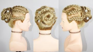 Bridal hairstyle titorial |easy juda hairstyle | juda hairstyle | braid hairstyle