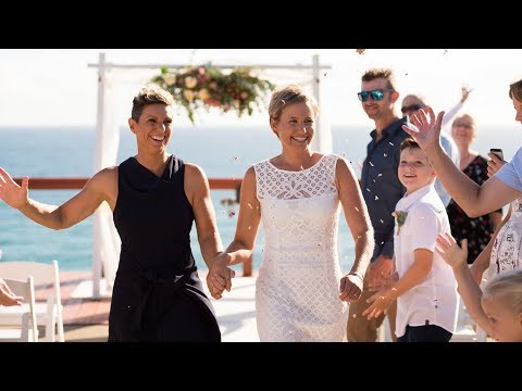 First Same Sex Couple Marry on the Gold Coast of Australia
