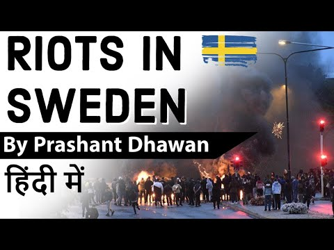 Riots in Sweden