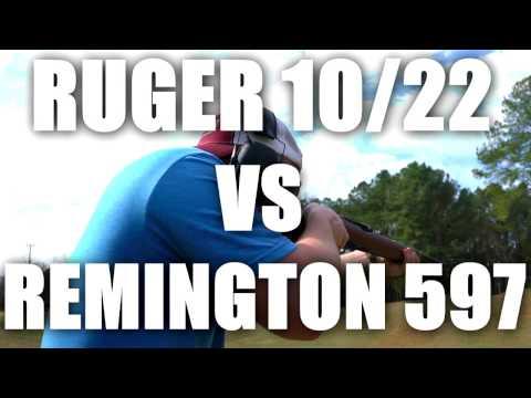 Ruger 10/22 vs Remington 597 22lr