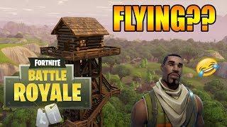 FLYING GLITCH IN FORTNITE BATTLE ROYALE