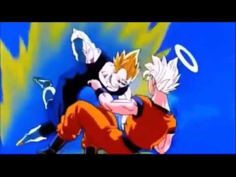Goku vs Vegeta  AMV - hadouken! mecha love