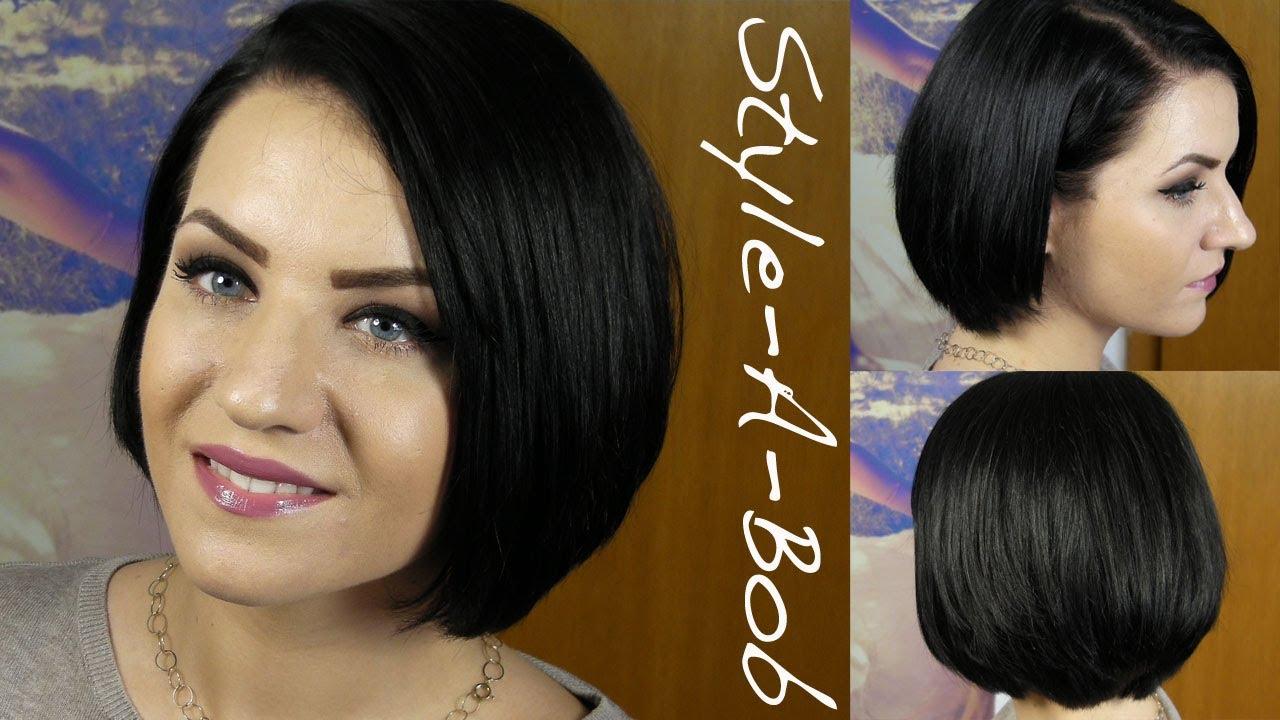 Style A Bob Meine Haarpflege Und Styling Rebeccafloeter Youtube