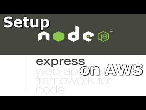 How to Setup Node and Express on Amazon Web Services EC2