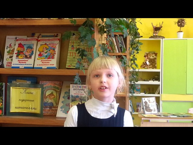 Изображение предпросмотра прочтения – АлинаСильвейструк читает произведение «Чародейкою Зимою…» Ф.И.Тютчева