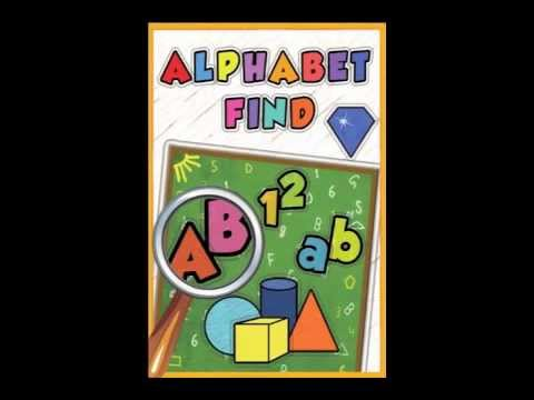 Alphabet Find - Free iOS/Android game for kids