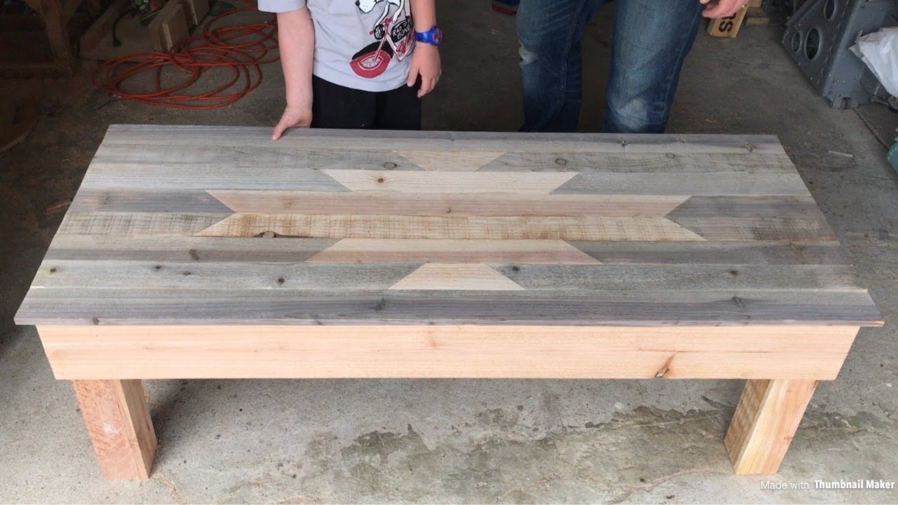 Building A $27 Coffee Table With Storage!  Youtube