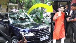 Aditya Thackeray High Security Entry At Salman Khan Ganpati Puja 2018