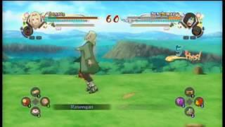Naruto Shippuden Ultimate Ninja Storm Generations tsunade & jairiya vs. orochimaru & kabuto