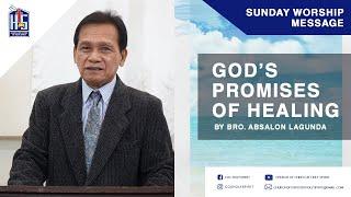 GOD S PROMISES OF HEALING