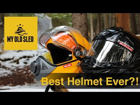 Best Snowmobile Helmet Ever?!