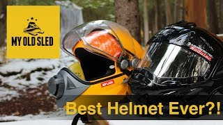 Best Snowmobile Helmet Ever?!