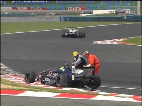 Bruno Mendez 2007 Spanish F3 Championship at Magny Cours Race1