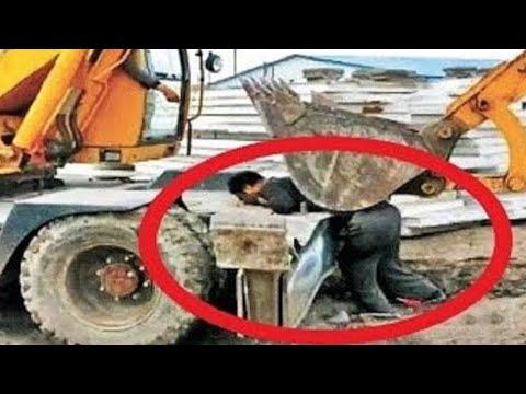 Такое Редко Увидишь! Ошибки Работников Снятые на Камеру - Видео онлайн