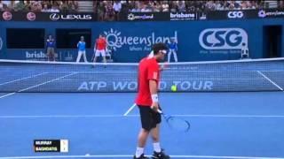 Andy Murray v Marcos Baghdatis - Men's Singles Quarter Final: Brisbane International 2012