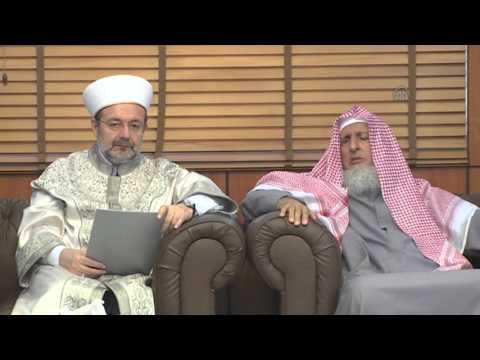 President of Turkey's Religious Affairs Directorate Mehmet Gormez in Saudi Arabia 1