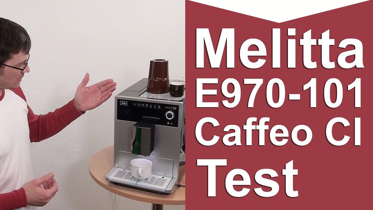 melitta caffeo ci kaffeevollautomat test youtube. Black Bedroom Furniture Sets. Home Design Ideas
