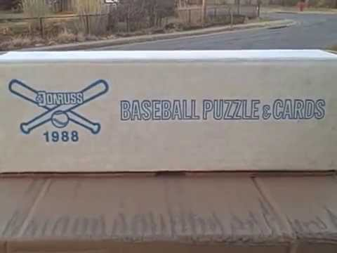 1988 Donruss Baseball Puzzle And Cards Complete Set New Unopened