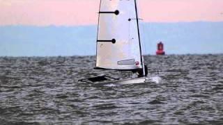 Blaze dinghy sailing at IOSSC