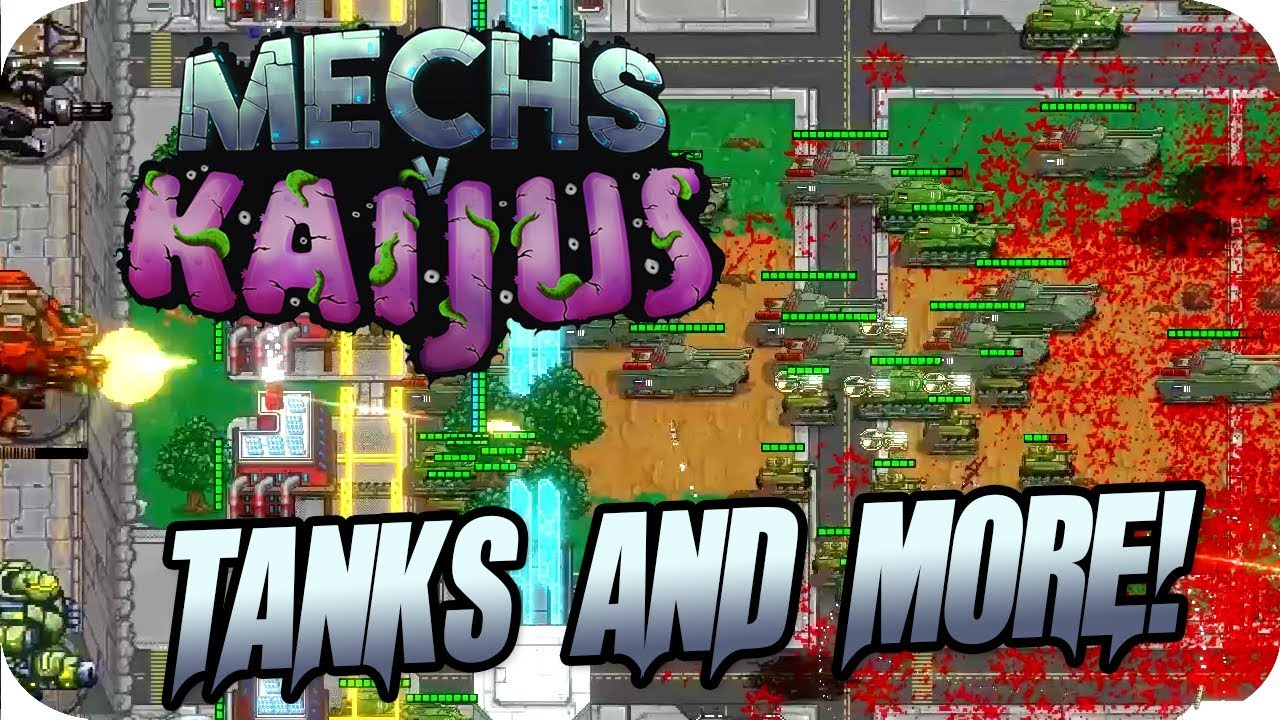 Download Mechs V Kaijus #9 Brand New Update - New Towers, Tanks, Tanks Everywhere
