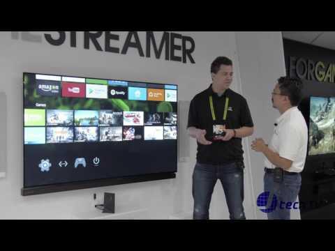 Nvidia Shield 4k HDR TV at CES 2017