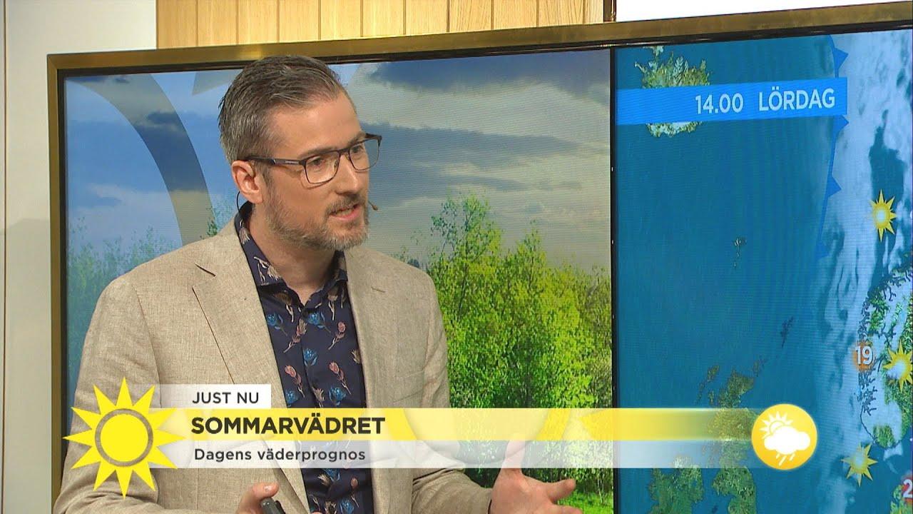 Åskan kan ställa till det för släckningsarbetet  - Nyhetsmorgon (TV4)