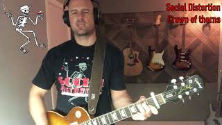 Social Distortion - Crown of thorns (guitar cover)