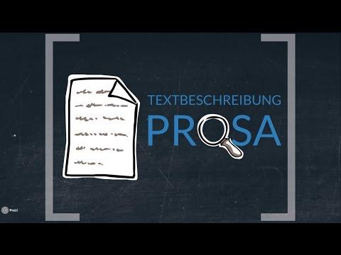 Textbeschreibung Prosa (TESTVERSION OHNE SKRIPT)