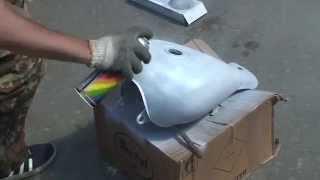 Как покрасить мопед своими руками(Наглядная демонстрация покраски мопеда. Краска быстро сохнет., 2011-07-28T05:05:14.000Z)