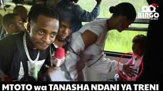 Alichokifanya TANASHA ndani ya Treni na Mwanae Nasib Jr. KUMENOGA BALAA