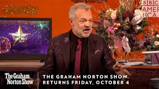 The Graham Norton Show Returns Friday, October 4 at 11pm | BBC America