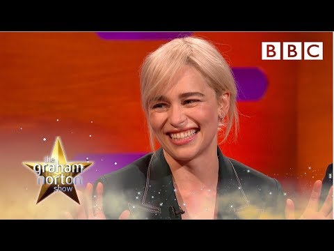 Emilia Clarke explains why Brad Pitt gave her the best night of her life  The Graham Norton