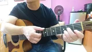 Hướng dẫn intro & đệm guitar bài. VÙNG LÁ ME BAY