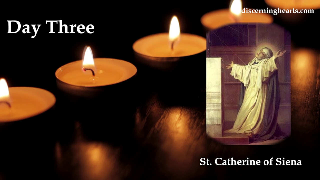 Novena to St. Catherine of Siena - Day Three - YouTube