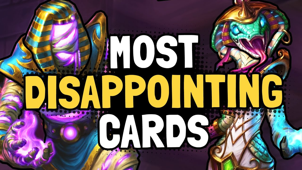 "Képtalálat a következőre: ""The 5 MOST DISAPPOINTING Cards in Saviors of Uldum 