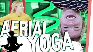 KRASSE Akrobatik bei GMI! Wer HÄLT DURCH beim Aerial Yoga?
