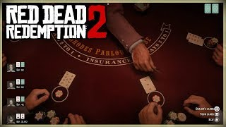 HOW TO PLAY BLACKJACK!! RED DEAD REDEMPTION 2 TIPS AND TRICKS - THE RULES OF BLACKJACK HOW TO WIN