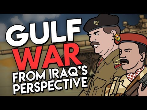 Gulf War from Iraq's Perspective (ft. EmperorTigerStar) | Animated Mini-Documentary