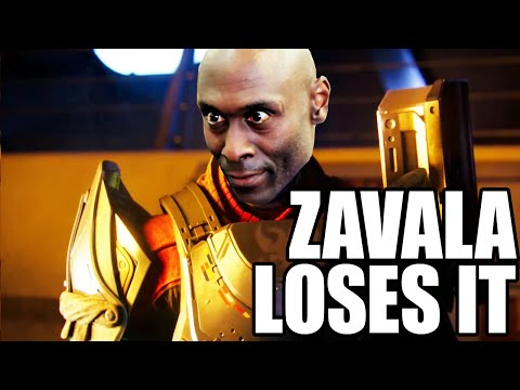Zavala Loses It  Destiny