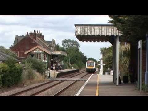 Railway Signalling in Anglia Ely to Norwich by Train Crazy - railway video