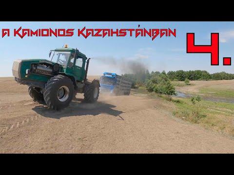 A kamionos Kazahstánban 4.rész.