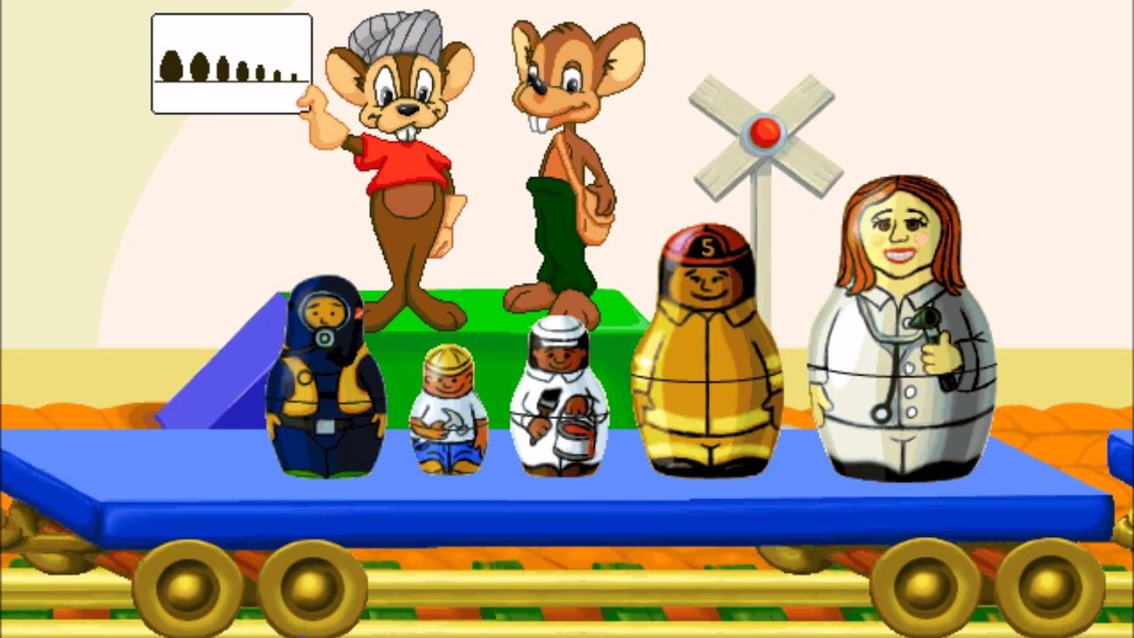 Jumpstart Kindergarten (1998) Part 6 - YouTube