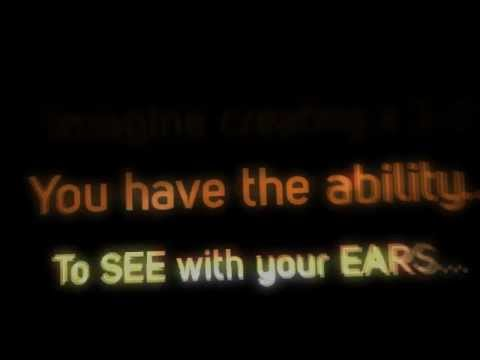 Learn to SEE with your EARS