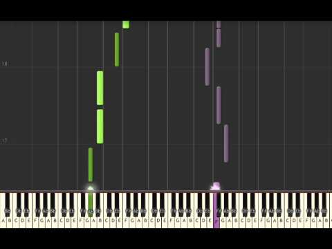 Smallville theme - Save me by Remy Zero - Piano cover and tutorial - Synthesia