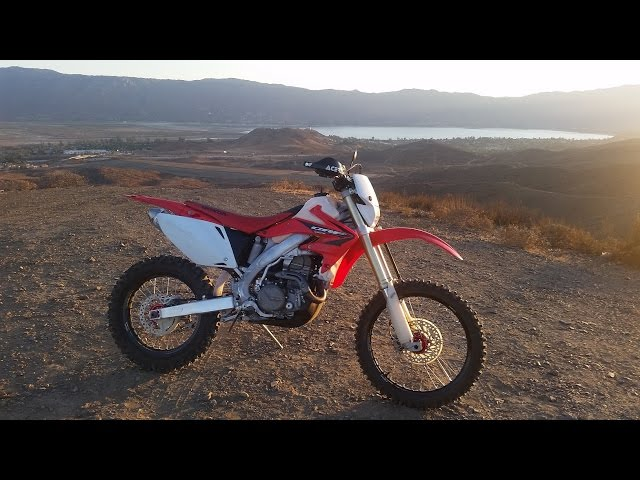 05 Honda crf450x CA street legal for sale ride and review