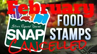 No Foodstamps February! Email Sent Out Warning Snap Benefits Will Not Be Sent Out February
