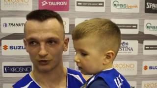 Wypowiedzi po meczu Miasto Szkła Krosno - Polfarmex Kutno: Grzegorz Grochowski.