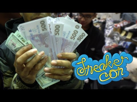 SPENDING FAKE MONEY AT SNEAKERCON LONDON