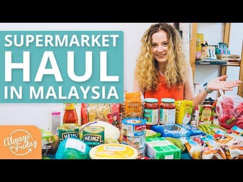 SUPERMARKET HAUL IN MALAYSIA