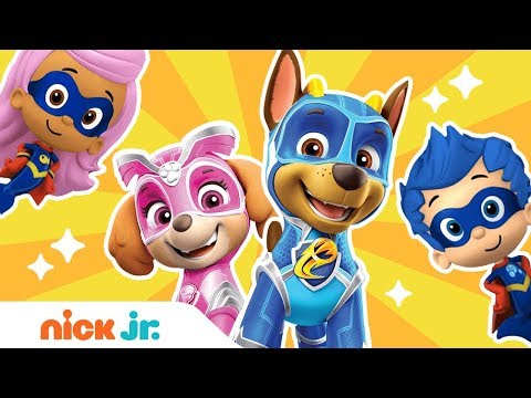 Hero Songs 💪 Ft. PAW Patrol Mighty Pups, Bubble Guppies & More! | Nick Jr.